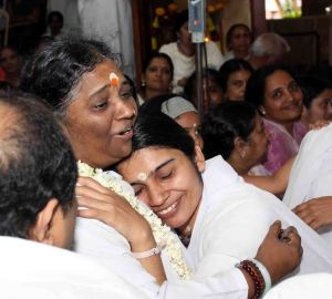Meera's Darshan with Amma